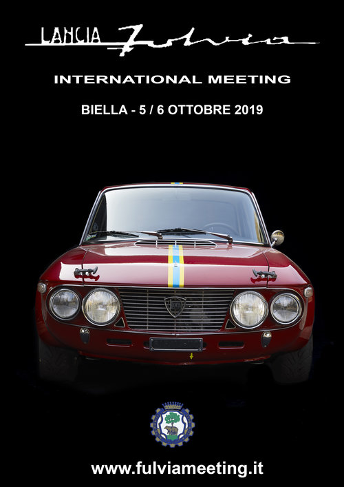 Lancia Fulvia International Meeting, 5.-6. oktober 2019
